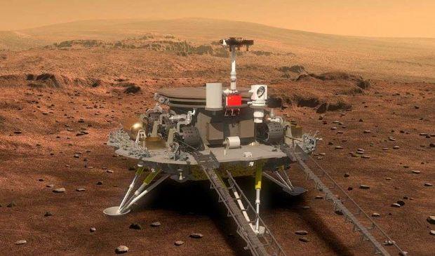 La Cina è atterrata su Marte: il rover Zhurong è sul Pianeta Rosso