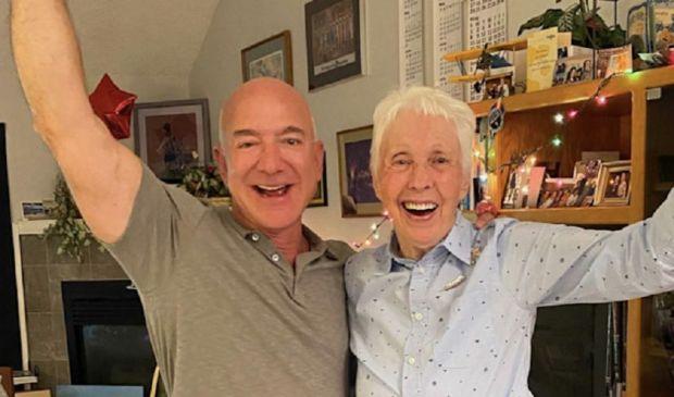 Jeff Bezos ha scelto: Wally Funk viaggerà con lui nello spazio
