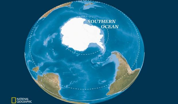 Gli oceani diventano ufficialmente 5: ecco il nuovo Oceano Meridionale