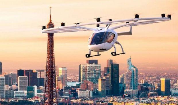 Aerotaxi a Parigi: la tedesca Volocopter lancerà VoloCity entro 2024