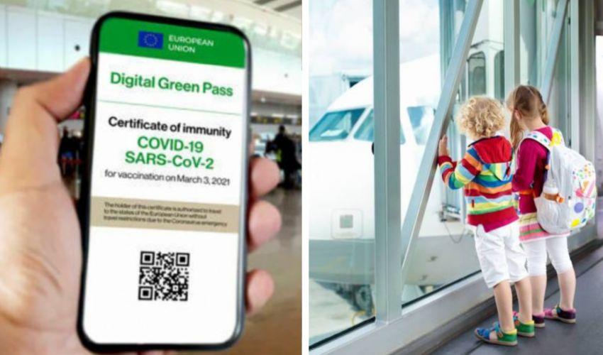 Green Pass per i minorenni: come funziona per bambini e adolescenti