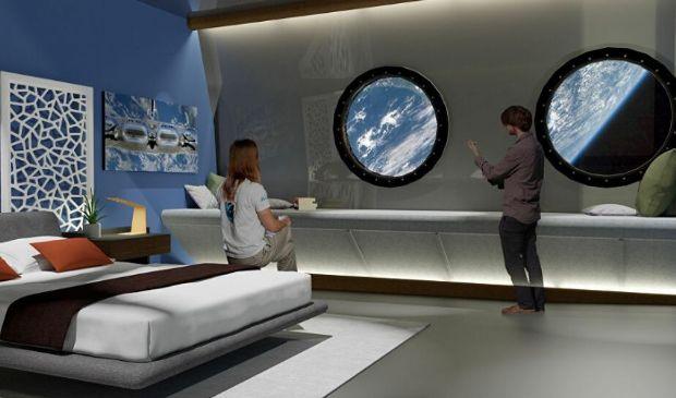 Primo hotel nello spazio nel 2027: ecco come sarà il Voyager Station