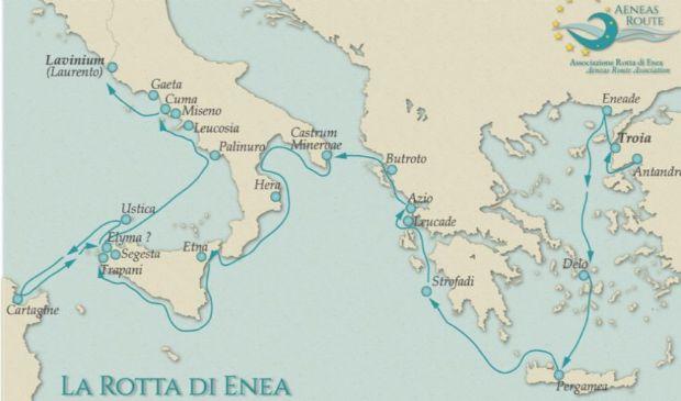 La Rotta di Enea, un itinerario affascinante tra natura e storia