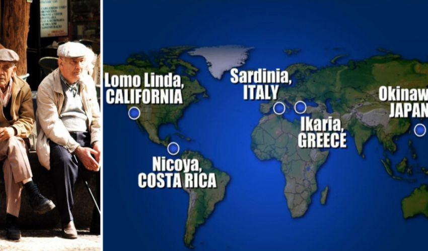 """Le 5 """"zone blu"""" da Okinawa a Ogliastra, ecco dove vivono i centenari"""