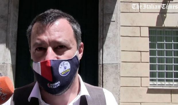 """Alitalia, Salvini: """"Accordo al ribasso? Il rischio è il fallimento"""""""