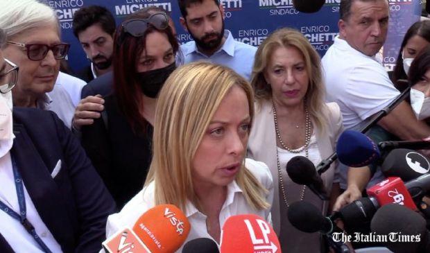 """FdI, Meloni: """"Chiedo a Fanpage intero girato""""inchiesta """"Lobby Nera"""""""