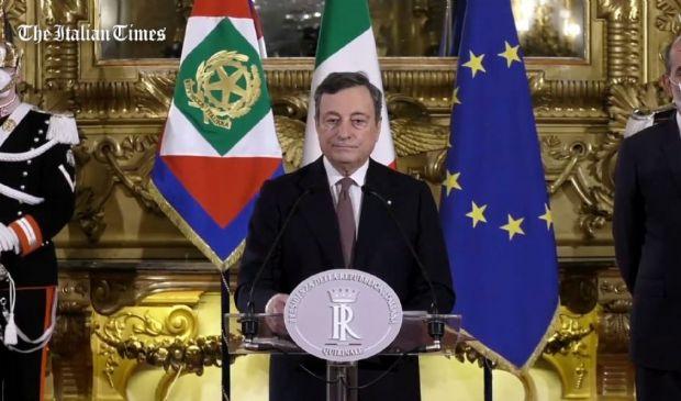 Governo, Draghi accetta l'incarico e presenta la lista dei ministri