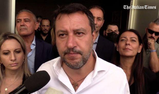 """Green pass, Salvini: """"Contento dei risultati ottenuti dalla Lega"""""""