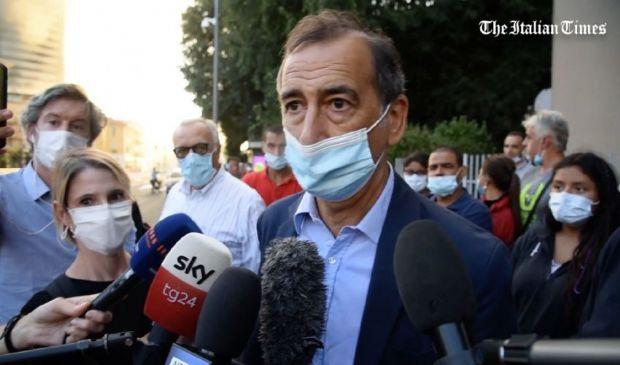 """Incendio Milano, Sala: """"Cause? Difficile dirlo"""". Per ora tutti salvi"""