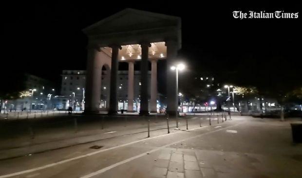 Milano di notte: il video della città durante il coprifuoco, timelapse