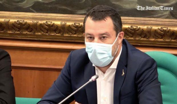 """Pensioni, Salvini """"No alla legge Fornero. Nostro obiettivo quota 41"""""""