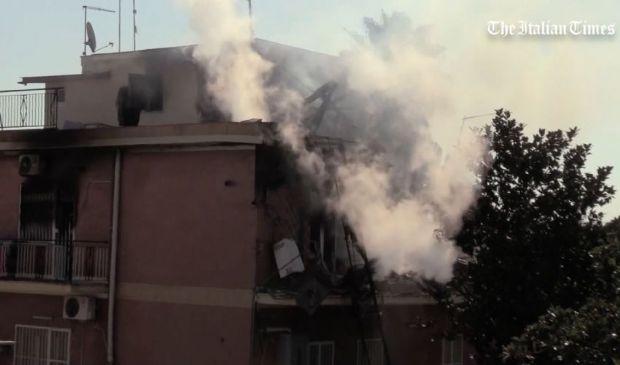 Roma, forte esplosione a Torre Angela. Tre i feriti, cause sconosciute