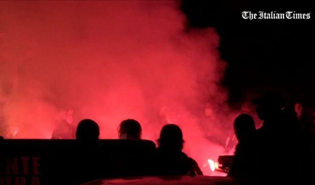 Roma, tensione tra manifestanti non autorizzati e forze dell'ordine