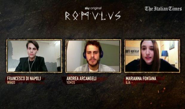 """""""Romulus"""" raccontato dai protagonisti della serie evento Sky Original"""