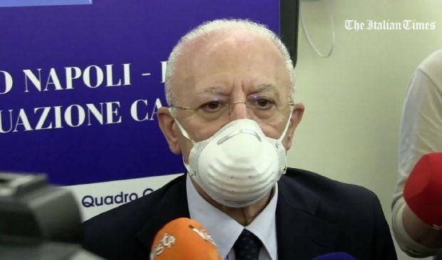 Vincenzo De Luca, cosa pensa di Manfredi come Sindaco di Napoli 2021