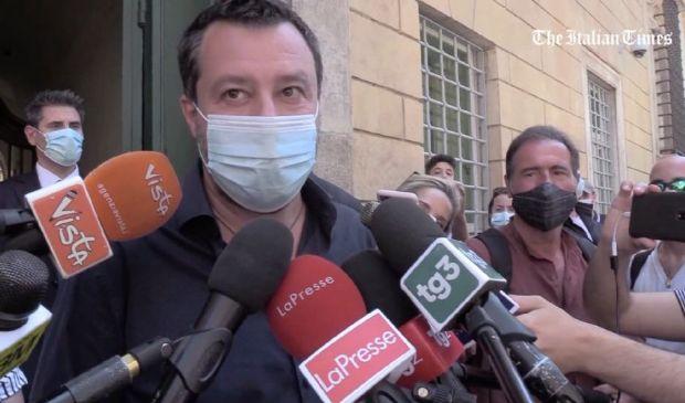 """Sindaco di Roma, Salvini """"Ho visto Matone e Michetti, entrambi ottimi"""""""