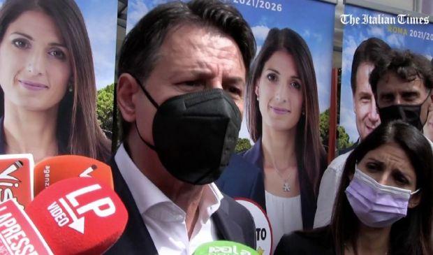 """Roma, Conte: """"Ho lavorato bene con Gualtieri ma Raggi merita rinnovo"""""""