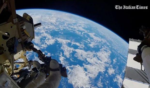 La missione spaziale Beyond raccontata da Parmitano in un documentario