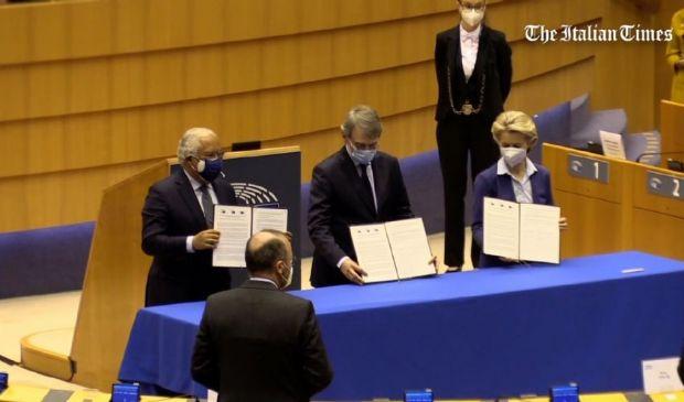 UE, Parlamento dà il via alla Conferenza sul futuro dell'Unione