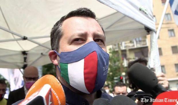 """Uggetti, Salvini """"Più che chiedere scusa cosa devo fare? Darmi fuoco?"""""""