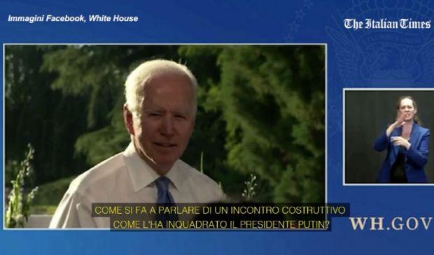 """Usa, Biden contro la giornalista """"Se non capisci hai sbagliato lavoro"""""""